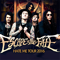 "Escape The Fate 2016 в ""Red"""